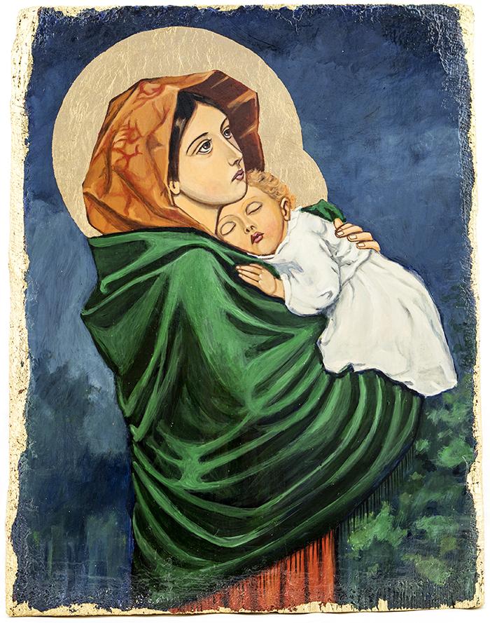 Matka-Boża-Madonnina-ikona
