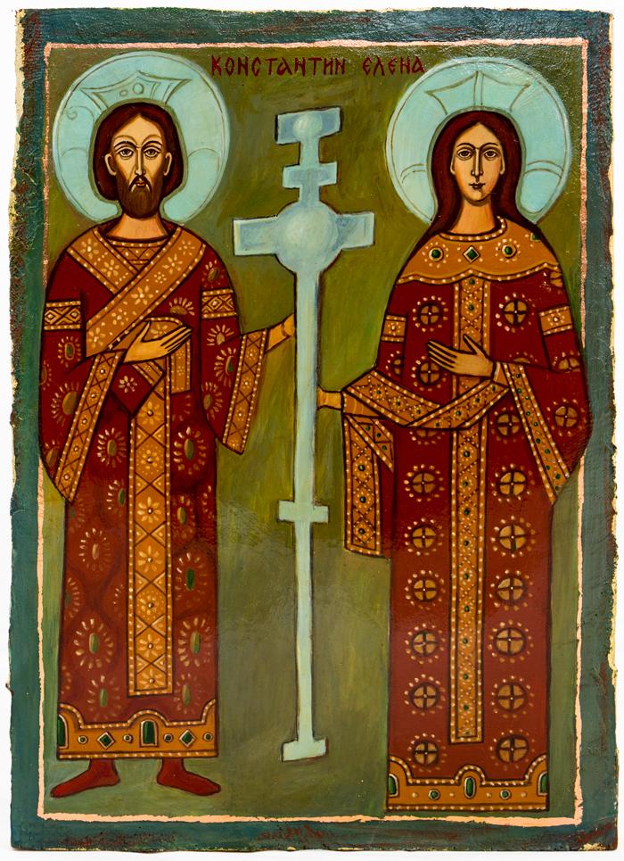 ikona Konstantyn Helena