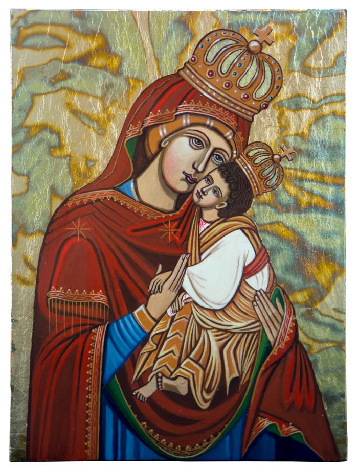 Matka Boża Łopieńska ikona