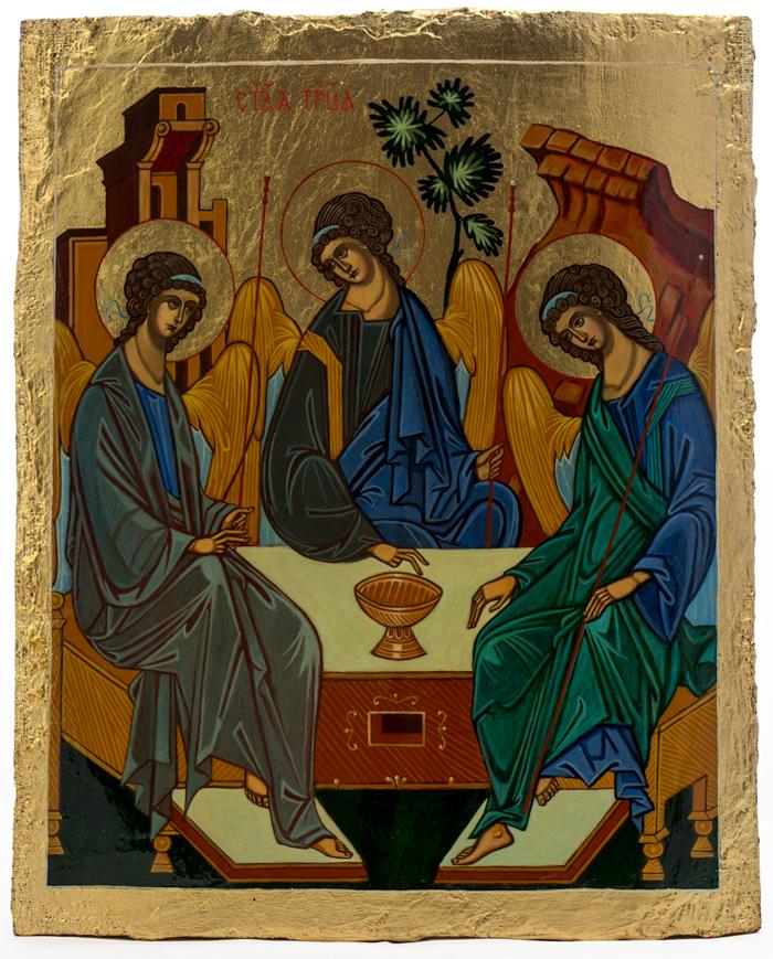 ikona Świętej Trójcy