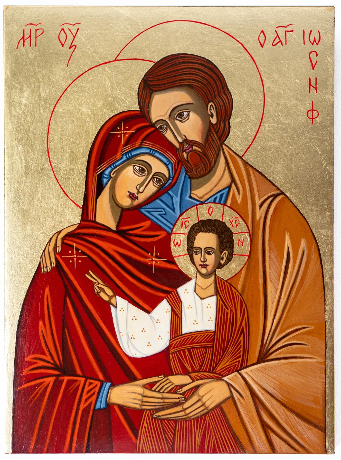 Święta Rodzina ikona