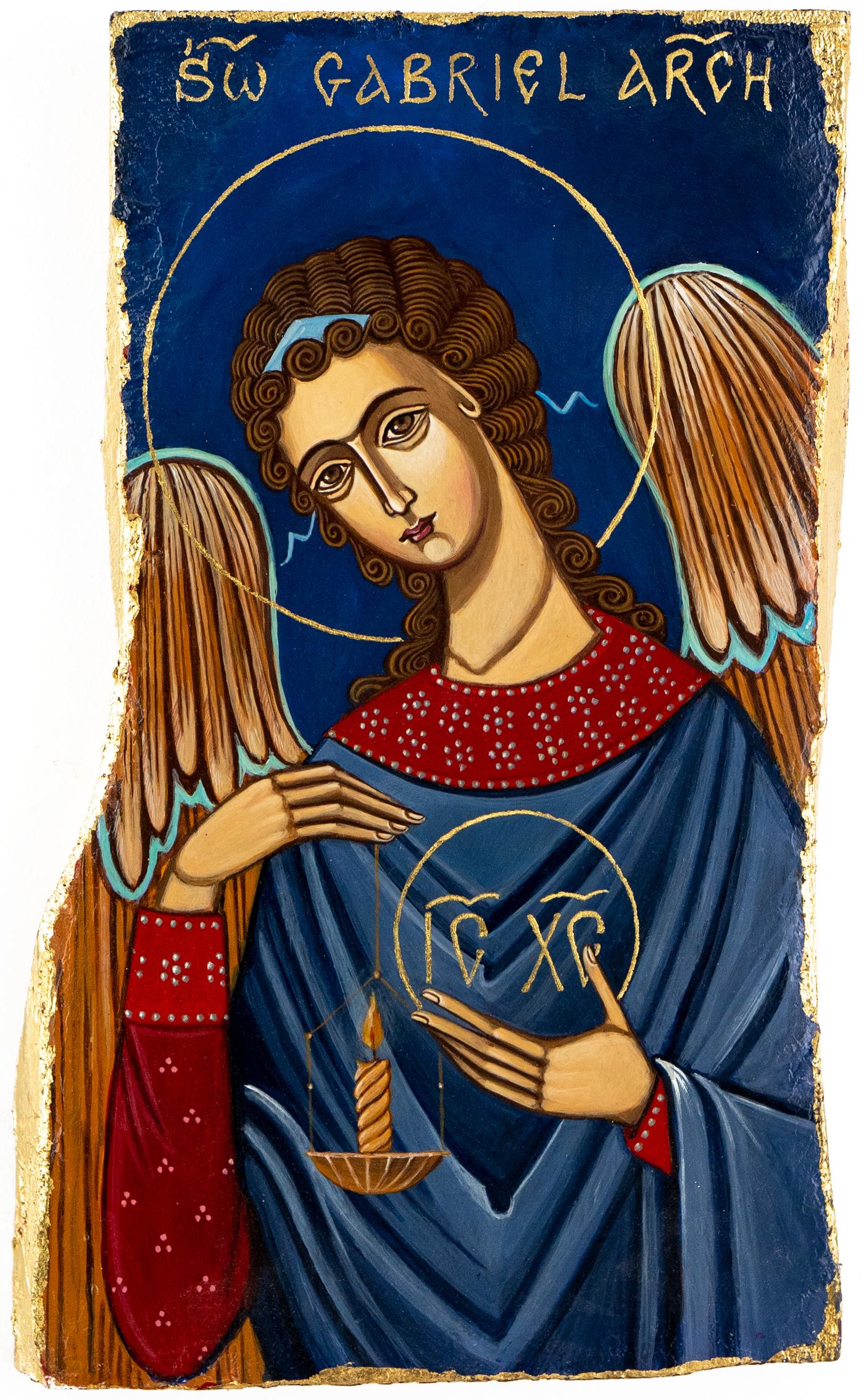 ikona Gabriel Anioł