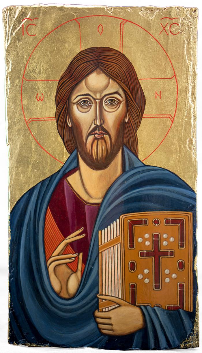 Chrystus Pantokrator wg wizerunku Chrystusa z klasztoru św. Katarzyny na Górze Synaj