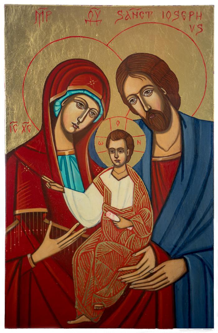 ikona Świętej Rodzny z Nazaretu