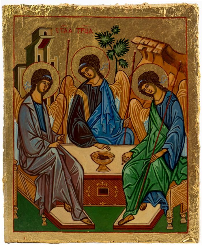 Święta Trójca ikona Świat Ikon
