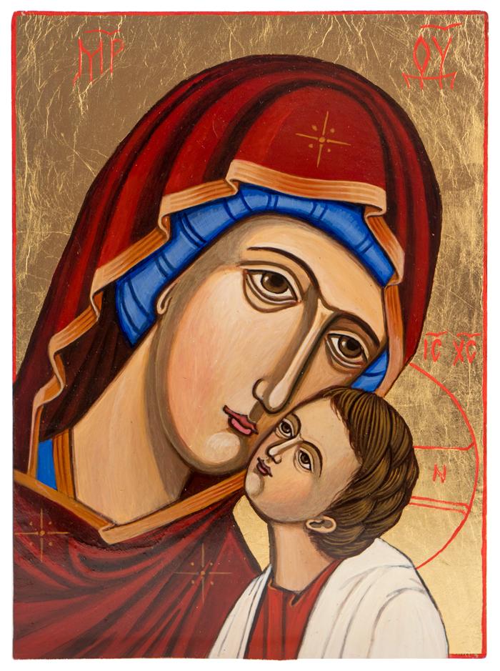 Matka Boża ikona Eleusa Świat Ikon